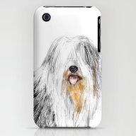 Old English Sheepdog iPhone (3g, 3gs) Slim Case