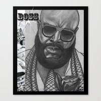 BOSS Canvas Print
