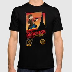 Tower of Darkness SMALL Black Mens Fitted Tee