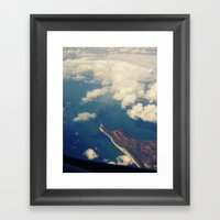 Lands End Framed Art Print