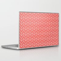 chevron Laptop & iPad Skins featuring Chevron by Dizzy Moments