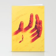 Long Fingers Stationery Cards