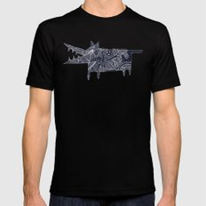 above the clouds Mens Fitted Tee Black SMALL