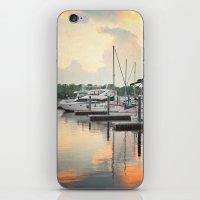 Little Pink Sailboat iPhone & iPod Skin