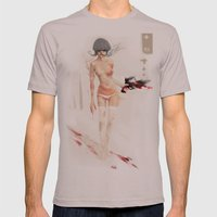 Blown Away Mens Fitted Tee Cinder SMALL