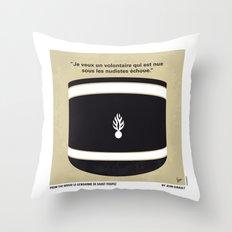 No186 My Le Gendarme de Saint-Tropez minimal movie poster Throw Pillow