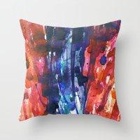 Aquarella Throw Pillow