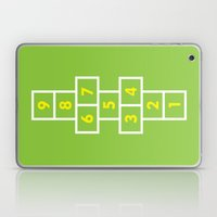 Hopscotch Green Laptop & iPad Skin