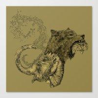 Elewolf Canvas Print