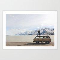 Wander The West Art Print
