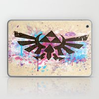 Splash Triforce Emblem Laptop & iPad Skin