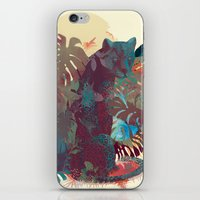 Panther Square iPhone & iPod Skin