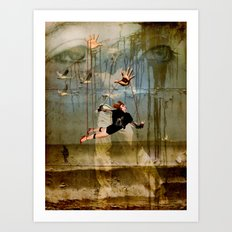 You can fly Art Print