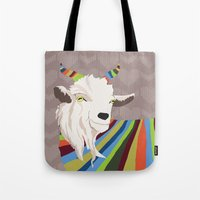 Sweater Goat Tote Bag