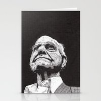 Homeless Man5 Stationery Cards