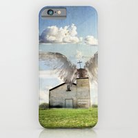 iPhone & iPod Case featuring Archangel Azrael by Daniel Donnelly