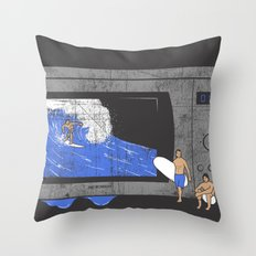 Microwave Throw Pillow