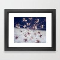 Like Spinning Stars Framed Art Print