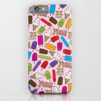 Ice Cream Doodles iPhone 6 Slim Case