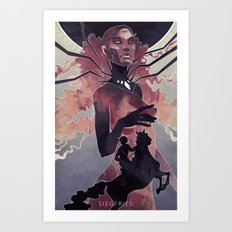 Siegfried Art Print