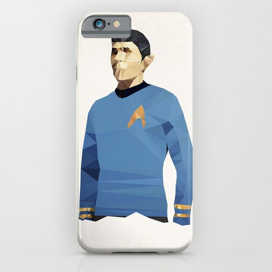 Polygon Heroes - Spock iPhone & iPod Case