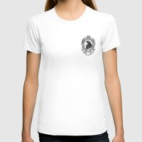 Old Black Crow Womens Fitted Tee White SMALL