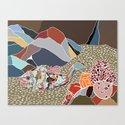 rockfish in situ Canvas Print