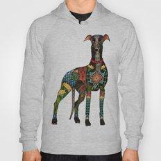 greyhound azure blue Hoody