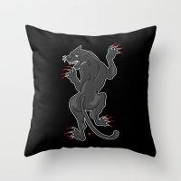 PP (Panther Power) Throw Pillow