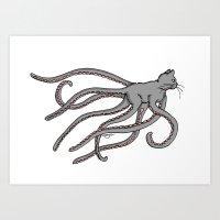 Octopussy (2014) Colour Art Print