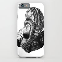 iPhone & iPod Case featuring Chimp by MARIA BOZINA - PRINT