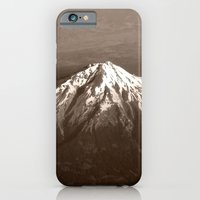 iPhone & iPod Case featuring Soaring Above the Mountains by Julie