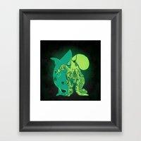 Oceanic INK Framed Art Print