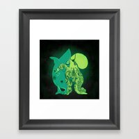 Oceanic INK Framed Art Print