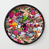Supercombo #2 Wall Clock