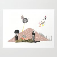 Did You See That!? Art Print