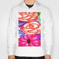 Roses and Daisies Hoody