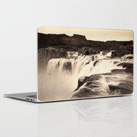 Vintage Waterfall Laptop & iPad Skin