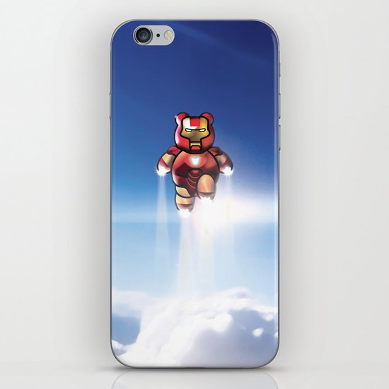 Super Bears - ACTION! the Invincible One iPhone & iPod Skin