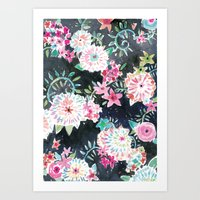 Flourish Floral Art Print