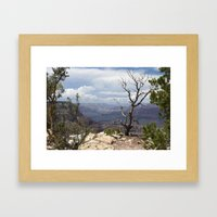 Canyon Ghost Framed Art Print