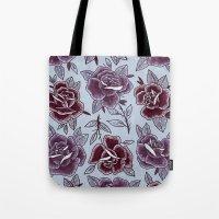 Dozen Roses - Purple Tote Bag