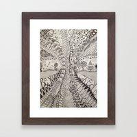 'Tangled Tree Framed Art Print