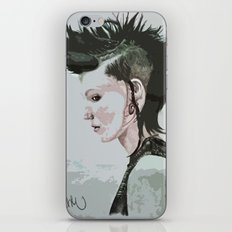 The Girl with the Dragon Tattoo iPhone & iPod Skin