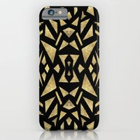 iPhone Cases featuring Ari's Gold by Nina May Designs