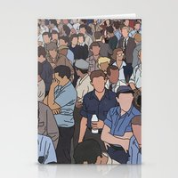 A Face In A Crowd Stationery Cards