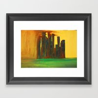 This City, Too, Will Be … Framed Art Print
