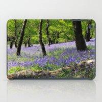 Bluebell Wood. iPad Case