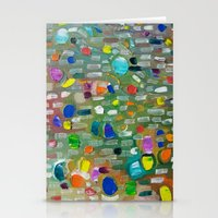 Abstract 8 Stationery Cards