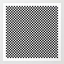 Chess Board Art Print